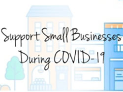 support small businesses through COVID